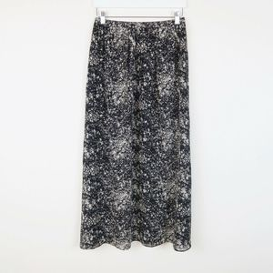 Madewell Broadway and Broome Silk Maxi Skirt